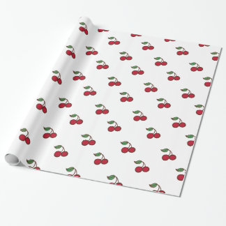 Retro Cherry Holiday All Occasion Wrapping Paper
