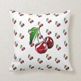 Retro Cherry Pillow