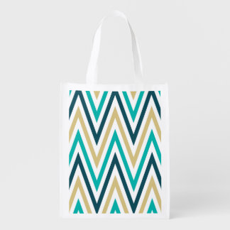 Retro Chevron Zig Zag Stripes Pattern
