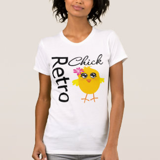 Retro Chick T-shirts