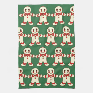 Retro Christmas Cookies Kitchen Towel Gift