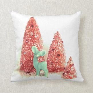 Retro Christmas Deer Cushions