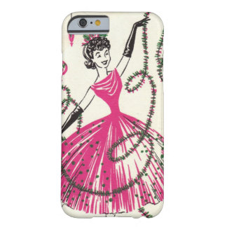 Retro Christmas iPhone 6 case Barely There iPhone 6 Case