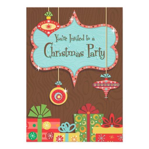 Retro Christmas Party Invitations, 1,500+ Retro Christmas ...