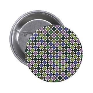 Retro Circle Pattern Pin
