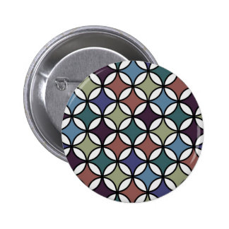 Retro Circle Pattern in Gorgeous Rustic Colors Pins