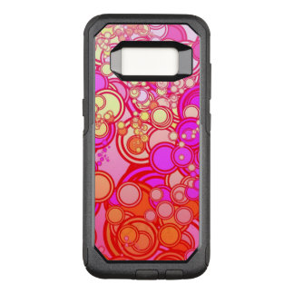 Retro Circles OtterBox Commuter Samsung Galaxy S8 Case