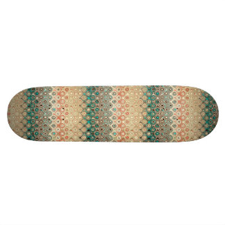 Retro Circles Pattern Skateboard Decks