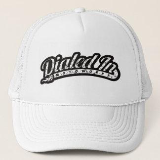 Retro Classic 1950s style Motorcyle Logo Trucker Hat