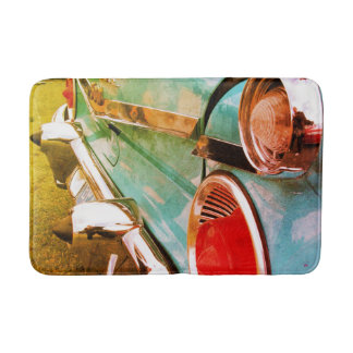 Retro Classic Car - Bath Mat