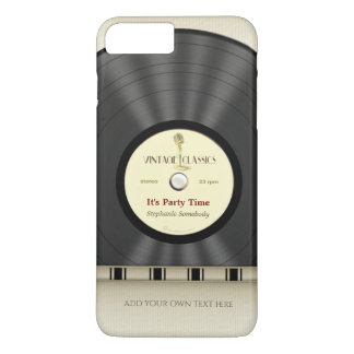 Retro Classic Vinyl LP Record iPhone 7 Plus Case