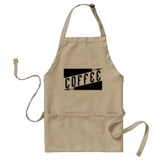 retro coffee standard apron