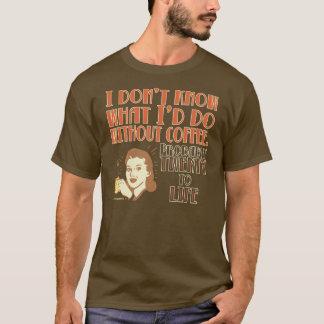 Retro Coffee Twenty to Life T-Shirt