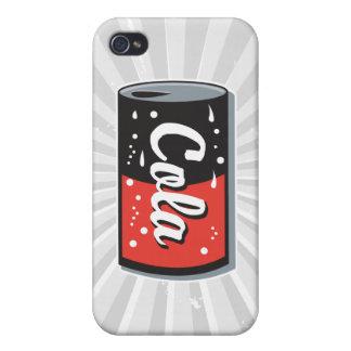 retro cola can design iPhone 4 cases
