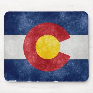 Retro Colorado Flag Mouse Pad