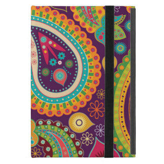Retro Colorful Beautiful Boho Bohemian Paisley Case For iPad Mini