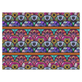 Retro Colorful Beautiful Boho Bohemian Tissue Paper