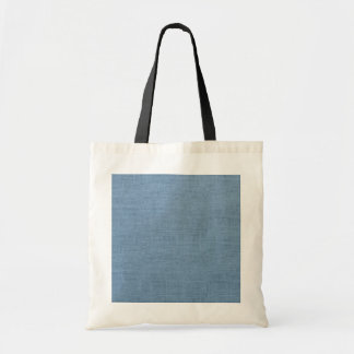 Retro Colorful Burlap Texture Pattern Budget Tote Bag