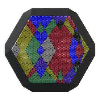Retro Colorful Diamond Abstract