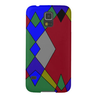 Retro Colorful Diamond Abstract Cases For Galaxy S5