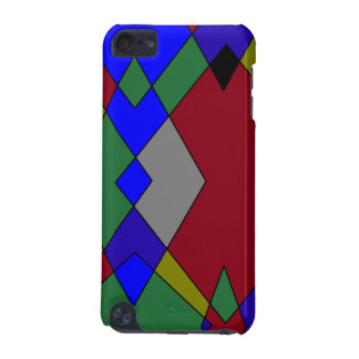 Retro Colorful Diamond Abstract iPod Touch (5th Generation) Case