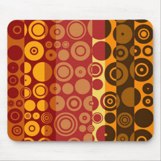 Retro Colorful Fifties Abstract Art 2 Mouse Pad