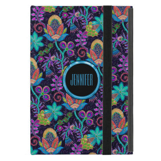 Retro Colorful Glass Beads Floral Design 2a Cover For iPad Mini