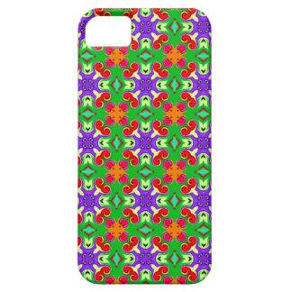 retro colorful original pattern i phone case