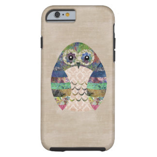 Retro Colorful Owl Boho Bohemian Bird Custom Tough iPhone 6 Case