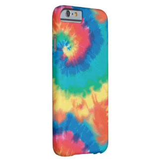 Retro Colorful Tie Dye Barely There iPhone 6 Case