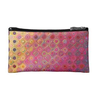 Retro Colorfull Artistic Pattern Cosmetic Bag