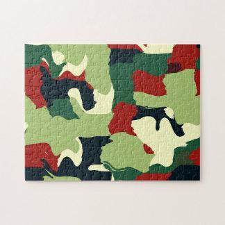 Retro colors pieces jigsaw puzzle