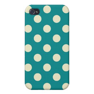 Retro Colors Polka Dot Iphone Case iPhone 4/4S Cases