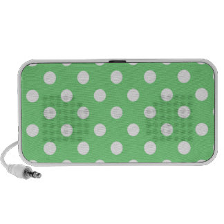 Retro Colors Polka Dot Speakers