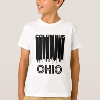 Retro Columbus Skyline T-Shirt