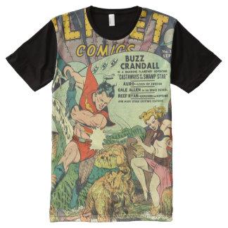 Retro comic All-Over print T-Shirt