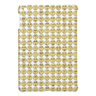 Retro Comic Book Emoji Pattern iPad Mini Covers