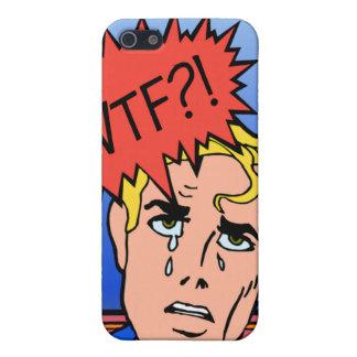 Retro Comic Book iPhone Case Case For iPhone 5
