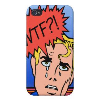 Retro Comic Book iPhone Case iPhone 4/4S Cases