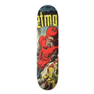 Retro comics - Rocketman 19.7 Cm Skateboard Deck