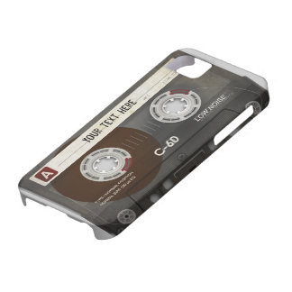 Retro Compact Audio Cassette | DJ Best Gifts iPhone 5 Cover