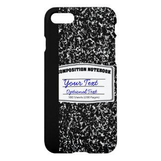 Retro Composition Notebook iPhone 8/7 Case