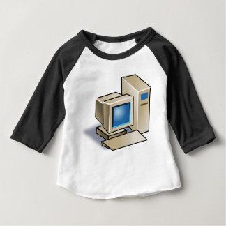 Retro Computer Baby T-Shirt