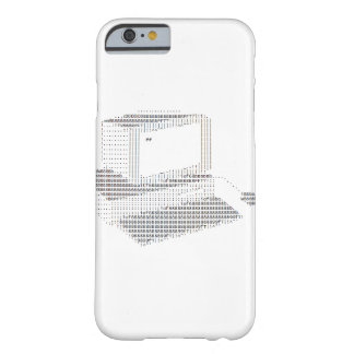 Retro Computer Barely There iPhone 6 Case