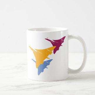Retro Concorde Jet Airplane Aviation Flight Design Coffee Mug