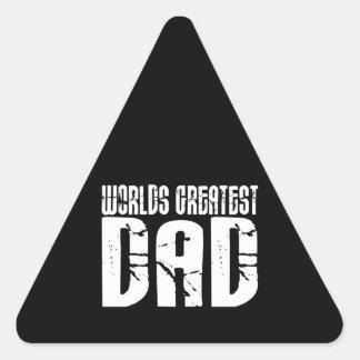 Retro Cool Dads : World's Greatest Dad Sticker