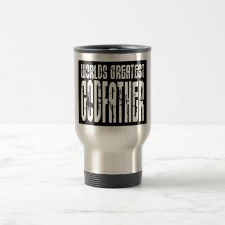 Retro Cool Godfathers : World's Greatest Godfather Travel Mug