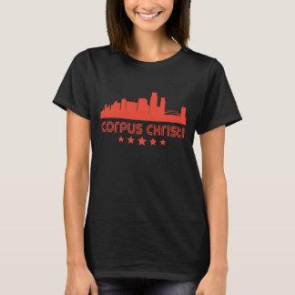 Retro Corpus Christi Skyline T-Shirt