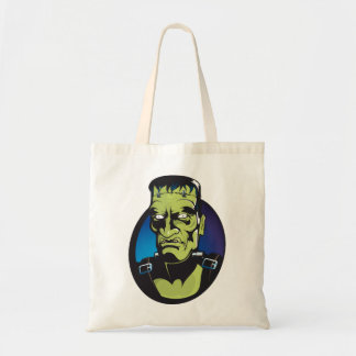 retro creature frankenstein Budget Tote Budget Tote Bag