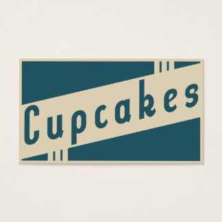 retro cupcakes get one free cards